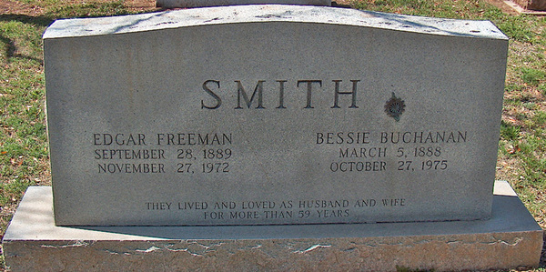 Smith tombstone